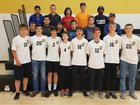 Prairie Grove Tigers Boys Varsity Soccer Spring 16-17 team photo.