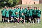 Yorktown Tigers Boys Varsity Soccer Fall 17-18 team photo.