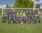 Hope Christian Huskies Boys Varsity Soccer Fall 17-18 team photo.