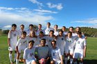 Santa Fe Prep Blue Griffins Boys Varsity Soccer Fall 17-18 team photo.