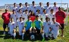Bernalillo Spartans Boys Varsity Soccer Fall 17-18 team photo.