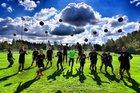 Crosspoint Warriors Boys Varsity Soccer Fall 17-18 team photo.