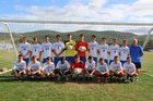 Oneonta Yellowjackets Boys Varsity Soccer Fall 17-18 team photo.