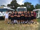 Ashley Screaming Eagle Boys Varsity Soccer Fall 17-18 team photo.