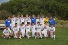 Bosque Bobcats Boys Varsity Soccer Fall 17-18 team photo.