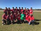 Monte Del Sol Charter Dragons Boys Varsity Soccer Fall 17-18 team photo.
