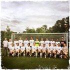 Orange Panthers Boys Varsity Soccer Fall 17-18 team photo.