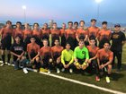 Eldorado Eagles Boys Varsity Soccer Fall 17-18 team photo.