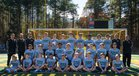 A.C. Reynolds Rockets Boys Varsity Soccer Fall 17-18 team photo.