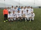 Midd-West Mustangs Boys Varsity Soccer Fall 17-18 team photo.