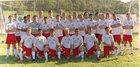 Cabell Midland Knights Boys Varsity Soccer Fall 17-18 team photo.