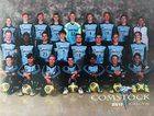 Comstock Colts Boys Varsity Soccer Fall 17-18 team photo.