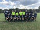Heritage Huskies Boys Varsity Soccer Fall 17-18 team photo.