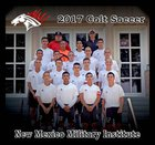 New Mexico Military Institute Colts Boys Varsity Soccer Fall 17-18 team photo.