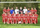 Palmyra-Macedon Red Raiders Boys Varsity Soccer Fall 17-18 team photo.