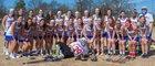 Riverside Warriors Girls Varsity Lacrosse Spring 16-17 team photo.