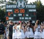 Harker Eagles Girls Varsity Lacrosse Spring 16-17 team photo.