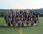 Leland Chargers Girls Varsity Lacrosse Spring 16-17 team photo.