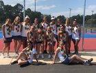 Bandys Trojans Girls Varsity Tennis Fall 18-19 team photo.