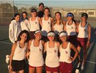 Laguna Beach Breakers Girls Varsity Tennis Fall 18-19 team photo.