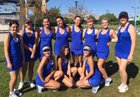South Tahoe Vikings Girls Varsity Tennis Fall 18-19 team photo.