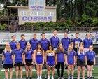 Fountain Lake Cobras Girls Varsity Tennis Fall 18-19 team photo.