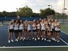 Cardinal Gibbons Crusaders Girls Varsity Tennis Fall 18-19 team photo.