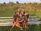 Central Cabarrus Vikings Girls Varsity Tennis Fall 18-19 team photo.