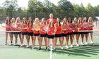 Forbush Falcons Girls Varsity Tennis Fall 18-19 team photo.