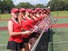 Hoke County Bucks Girls Varsity Tennis Fall 18-19 team photo.