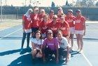 St. Francis Troubadours Girls Varsity Tennis Fall 18-19 team photo.