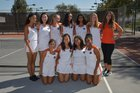 Polytechnic Panthers Girls Varsity Tennis Fall 18-19 team photo.