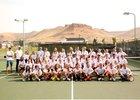 Green River Wolves Girls Varsity Tennis Fall 18-19 team photo.