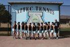 Azusa Aztecs Girls Varsity Tennis Fall 18-19 team photo.