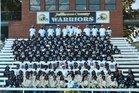 Jefferson County Warriors Boys Varsity Football Fall 19-20 team photo.