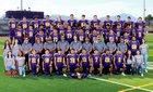 Burges Mustangs Boys Varsity Football Fall 19-20 team photo.