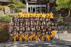 Inglemoor Vikings Boys Varsity Football Fall 19-20 team photo.