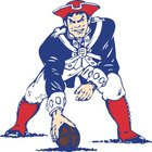 Liberty Patriots Boys Varsity Football Fall 19-20 team photo.