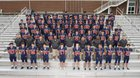 Eastside Catholic Crusaders Boys Varsity Football Fall 19-20 team photo.