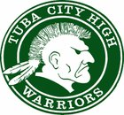 Tuba City Warriors Boys Varsity Football Fall 19-20 team photo.