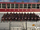 Pioneer Diamondbacks Boys Varsity Football Fall 19-20 team photo.