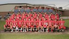 Highland Rebels Boys Varsity Football Fall 19-20 team photo.