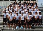 Piedmont Panthers Boys Varsity Football Fall 19-20 team photo.
