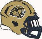 Loganville Christian Academy Lions Boys Varsity Football Fall 19-20 team photo.