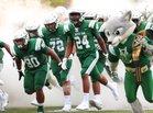 Dutch Fork Silver Foxes Boys Varsity Football Fall 19-20 team photo.