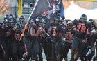 Pittsburg Pirates Boys Varsity Football Fall 19-20 team photo.