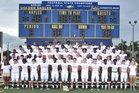Naples Golden Eagles Boys Varsity Football Fall 19-20 team photo.