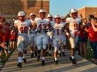 Katy Tigers Boys Varsity Football Fall 19-20 team photo.