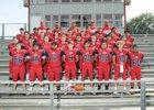 Horatio Lions Boys Varsity Football Fall 19-20 team photo.