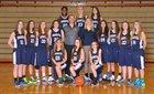 Dakota Cougars Girls Freshman Basketball Winter 16-17 team photo.